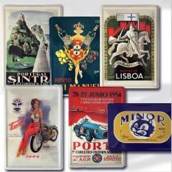Pack 6 Postais Vintage 10x15