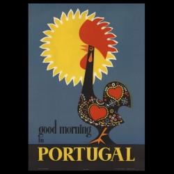 50cmx70cm good morning in Portugal