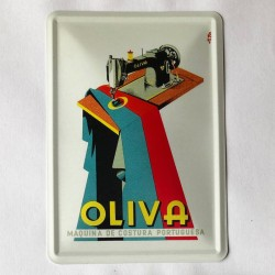 Oliva Postal Metálico 10x15