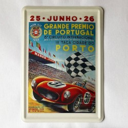 Acp Prémio Porto 1955- Postal Metálico 10x15